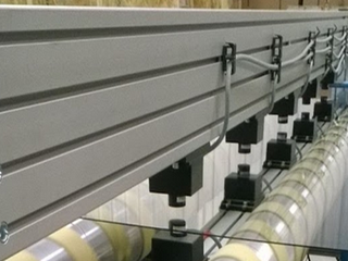 non-contact inline sheet resistance testing installation