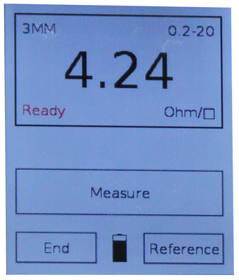 Software sheet resistance measurement tf portable