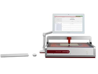 Measurement of sheet resistance EddyCus® TF lab 4040SR with foil and software